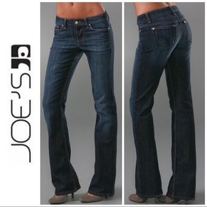 Joe's Distressed Muse Mid Rise Boot Cut Jeans 25 0